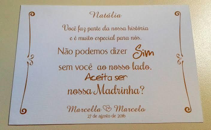 21. Modelos de Mensagens de Convite para Madrinha de Casamento